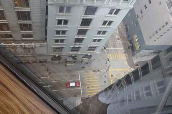 The Kowloon Hotel : Ausblick vom 18. Stockwerk
