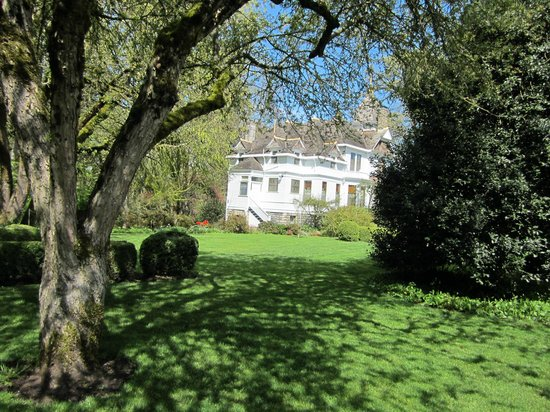 Deepwood Museum & Gardens : From the rear of the house.