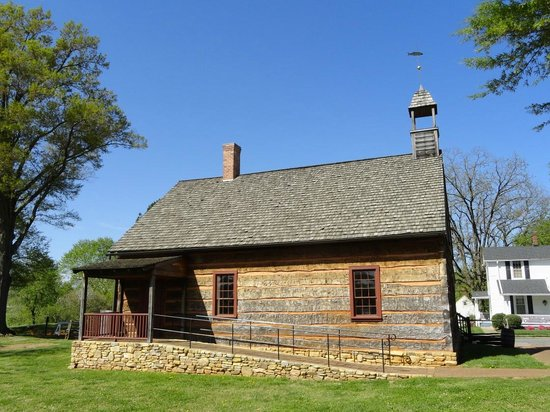 Old Salem Museums & Gardens: Rear of Old Church