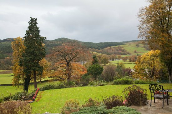 Sawrey House Hotel : View from the ceremony room
