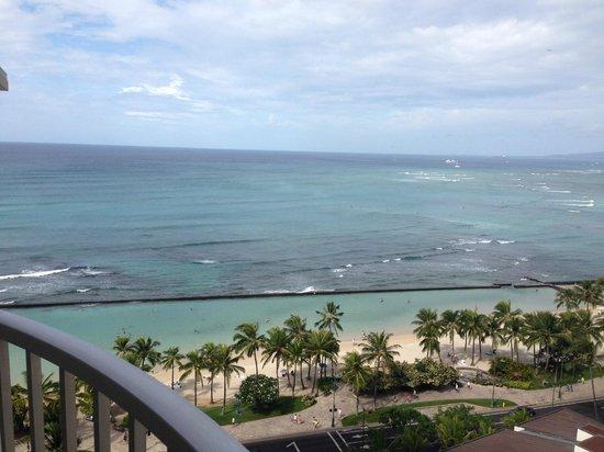 Aston Waikiki Beach Hotel: View from Balcony