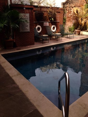 Hotel St. Marie: The pool