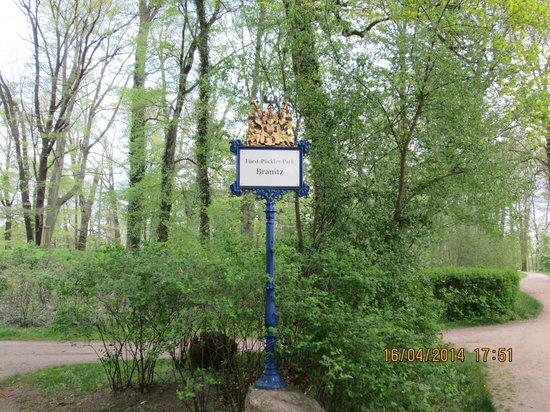 Puecklerpark Branitz: Один из входов в парк
