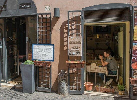 Va Trastevere Street View Of The Restaurant