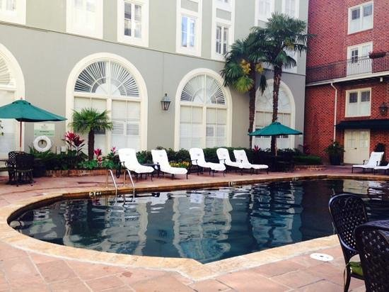 Bourbon Orleans Hotel: courtyard pool