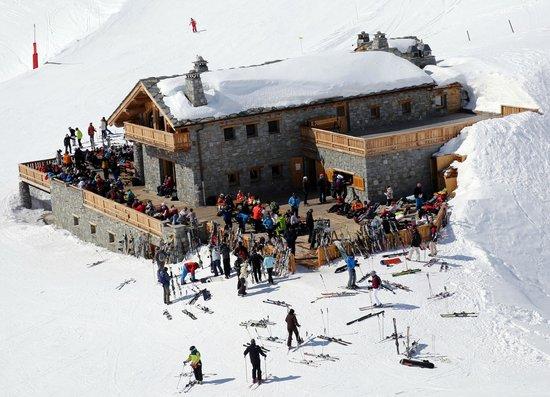 La cascade mountain restaurant at pissaillas glacier le for Restaurant la cascade
