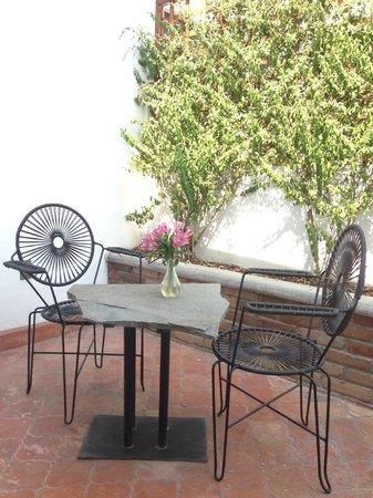 Casa Fernanda Hotel Boutique: Balcony