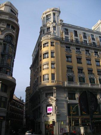 Hotel Arosa : Fachada del hotel