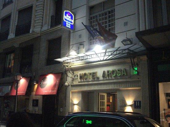 Hotel Arosa : Entrada del hotel