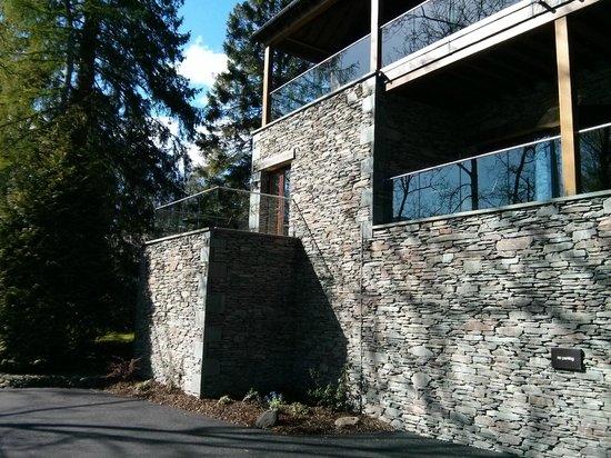 Brimstone at Langdale: Fireside Suite Balcony