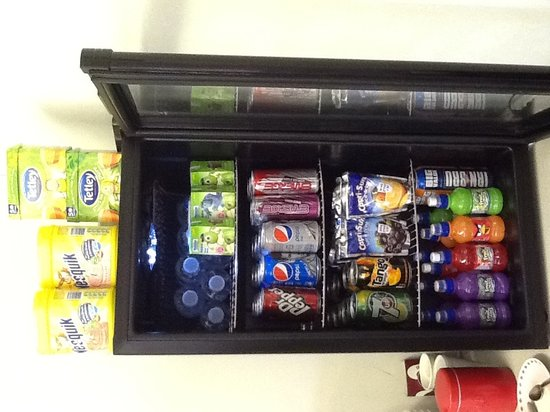 The Hut: Selection of Cold Beverages