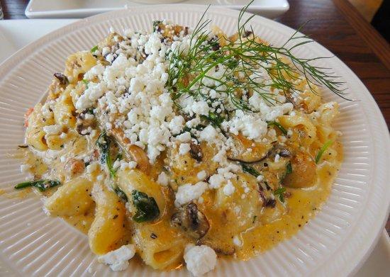 Alder Bistro & Lounge: The wild mushroom pasta.