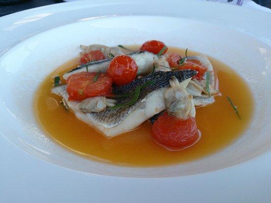 Terrazza Tiberio: delicious fish