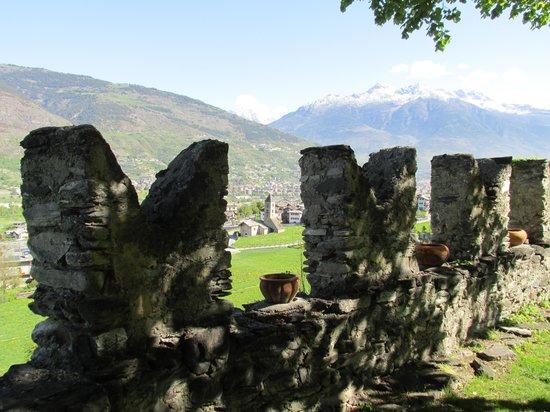 La Tour de Villa: dal giardino