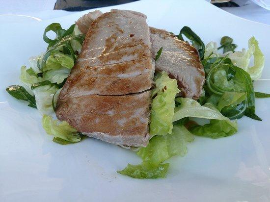 Terrazza Tiberio: tuna