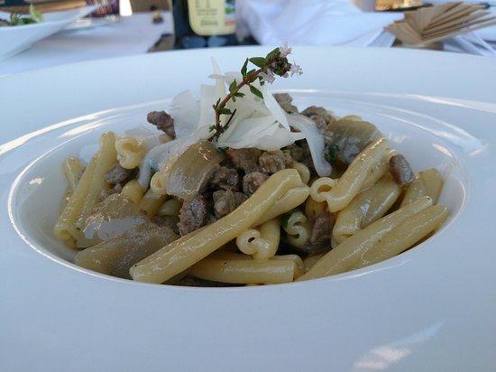 Terrazza Tiberio: pasta