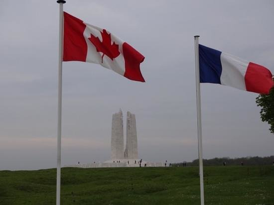 Mémorial de Vimy : A beautiful memorial!