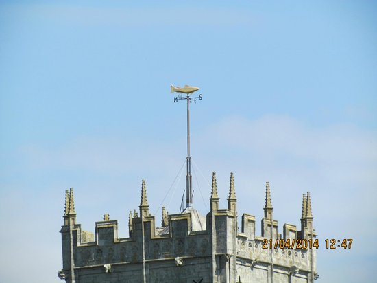 Christchurch Priory Church: Weather vane