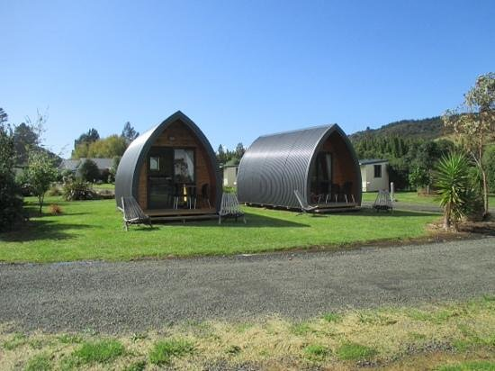 Hot Water Beach TOP 10 Holiday Park: Our Delux Cabin