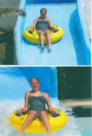 Aquapark Costa Teguise : the rapids slide