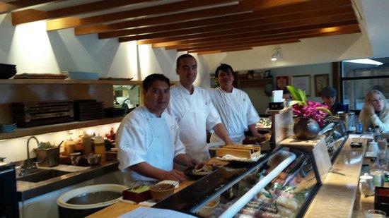 Sushi Ran: The Three Amigos!