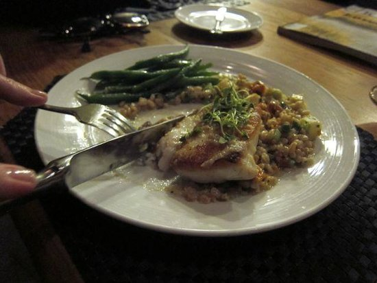 Slightly North of Broad : Pan-seared flounder