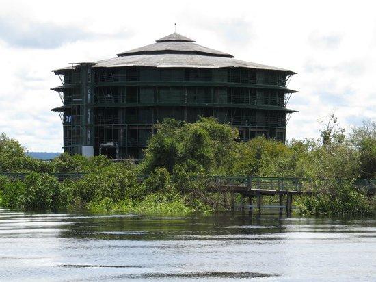 Ariau Amazon Towers Hotel: chegando ao hotel