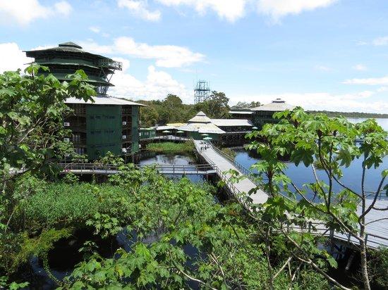 Ariau Amazon Towers Hotel: vista da suite Real