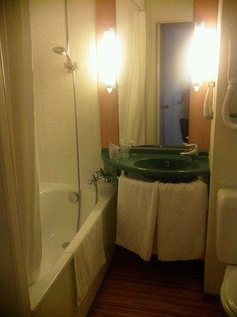 Ibis Mulhouse Ile Napoleon : toilet