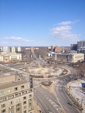 Embassy Suites by Hilton Philadelphia - Center City: View from the room