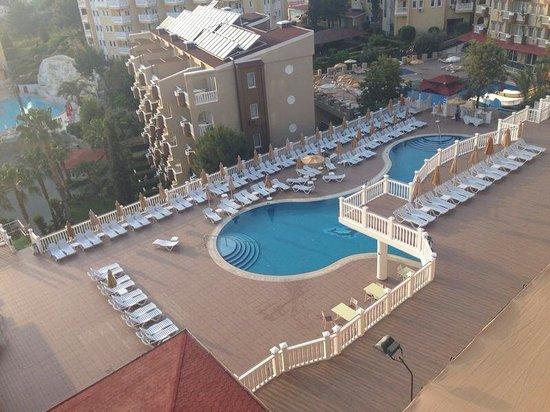 Club Paradiso Resort : Uitzicht vanaf balkon