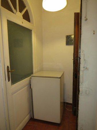 Rose Santamaria Residence: The fridge.. or whatever that was