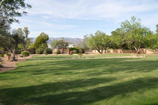 The Inns at El Rancho Merlita: Another view from front of Ranch House Inn