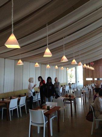 Perez Art Museum Miami: The Verde restaurant.