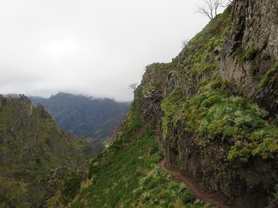 Pico Ruivo: New section of route