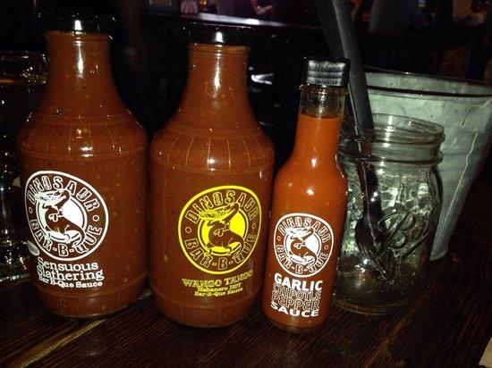 Dinosaur Bar-B-Cue: Sauces