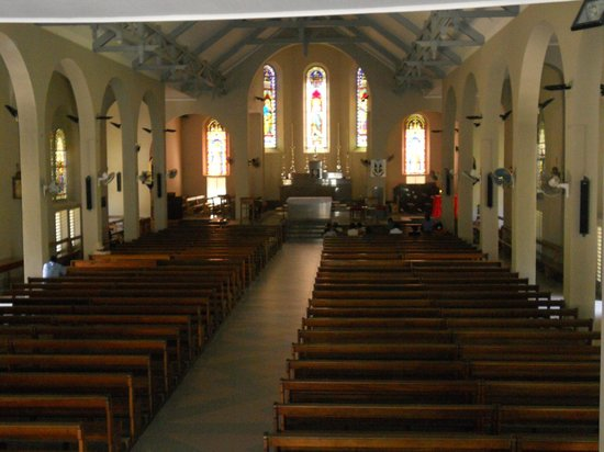Mahe Island, Seychelles: Cathedral of Our Lady of Immaculate Conception