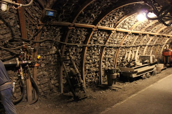 Centre historique minier - Musee de la Mine : la mine