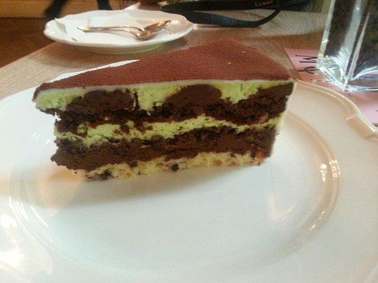 Cantinetta Fiorentina: Gâteau pistache - chocolat