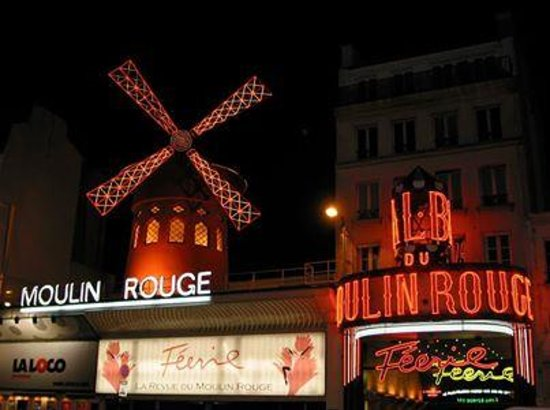 Moulin Rouge entrada