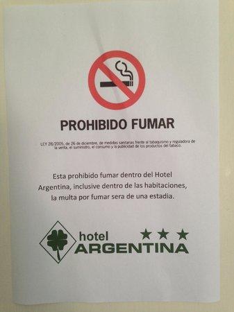 Hotel Argentina: Cartel