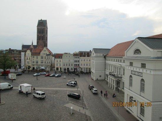 Steigenberger Hotel Stadt Hamburg: View from room 551