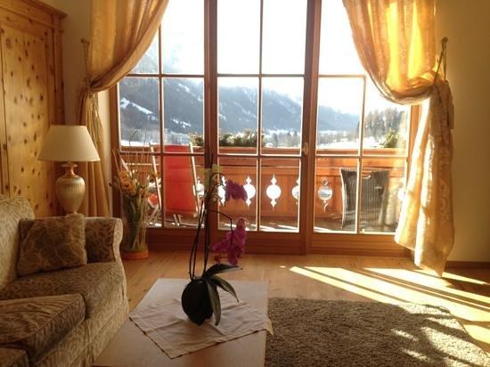 Hotel Quelle Nature Spa Resort: il soggiorno della nostra suite...