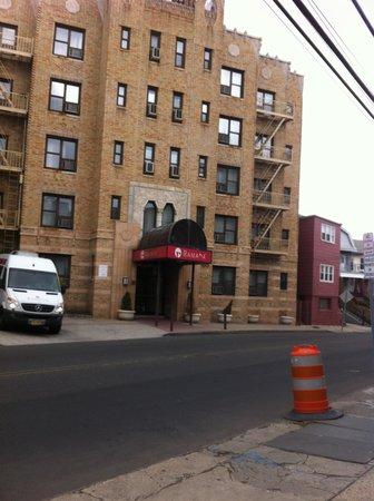 Ramada Jersey City: street view