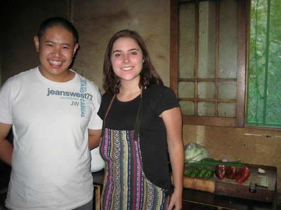 Zhuo Ma's Jiuzhaigou Home-Stay: This is the expert chef! He's a ton of fun, and very patient