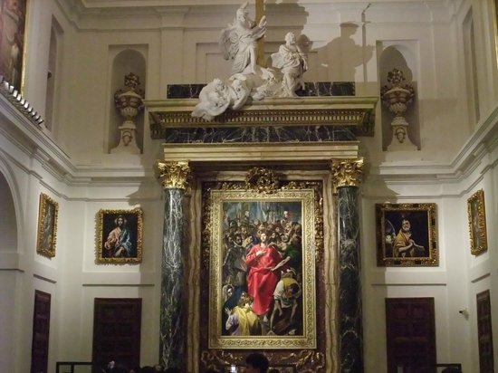 Catedral Primada: SACRISTIA. La exfoliación