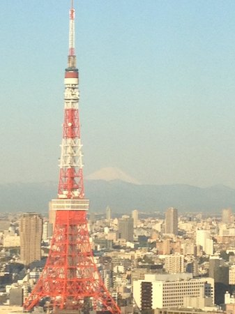 Park Hotel Tokyo : Room with a view