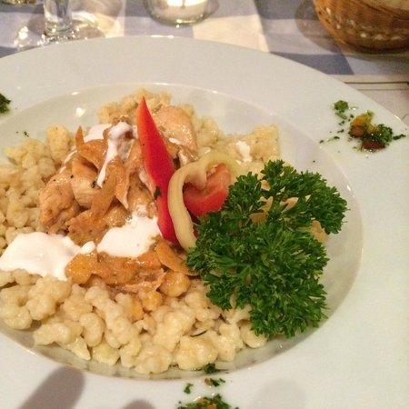 Chef Cafe: Paprika chicken [ boiled but tasteful ]
