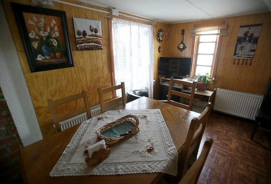 Hospedaje Costanera : Dining room