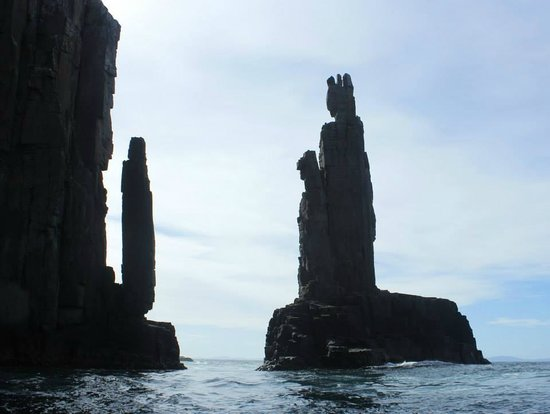 Bruny Island Cruises : Rock formations